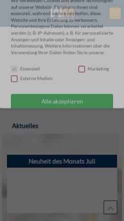 Vorschau der mobilen Webseite www.werkmarkt24.com, Werkmarkt