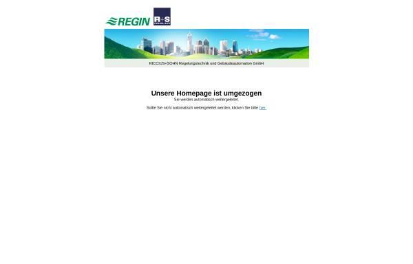 Vorschau von www.riccius-sohn.eu, Riccius+Sohn GmbH