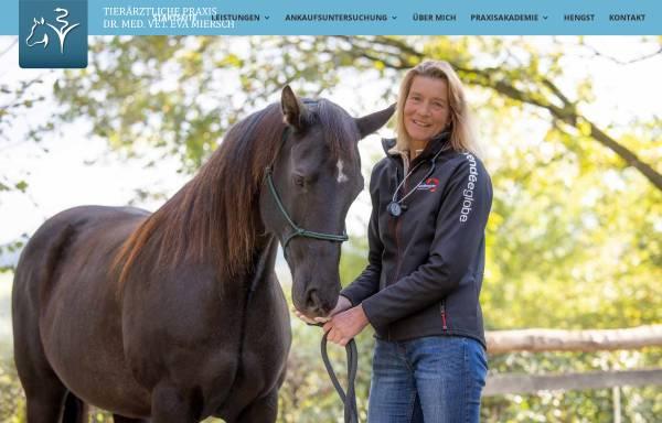 Vorschau von www.tierarzt-miersch.de, Tierärztliche Praxis Dr. E. Miersch