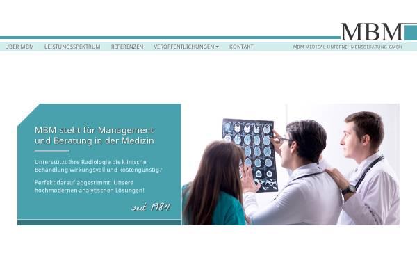 Vorschau von www.mbm-medconsult.de, MBM Medical-Unternehmensberatung GmbH