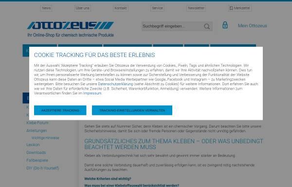 Vorschau von www.kleber-ratgeber.de, Kleber-Ratgeber