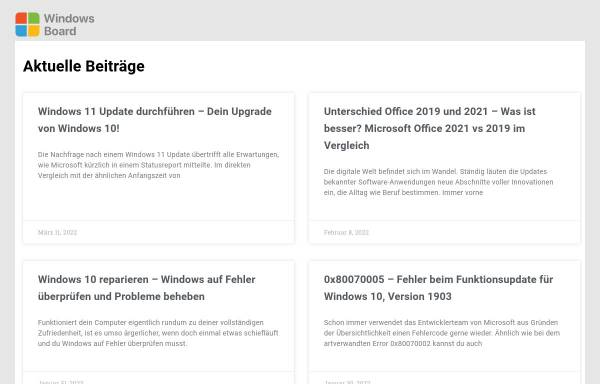 Vorschau von www.wintotal-forum.de, WinTotal Forum