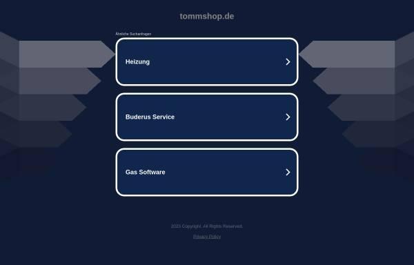 Vorschau von tommshop.de, Heizungsservice Thomas Omnis