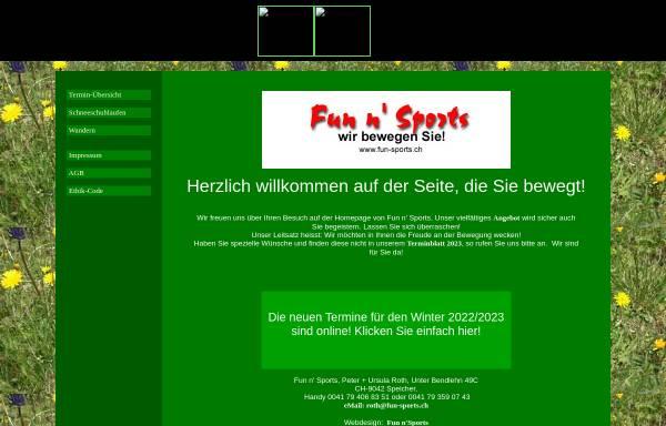Vorschau von www.fun-sports.ch, Fun n' Sports