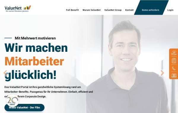 Vorschau von www.valuenet.de, Valuenet: Portal Recht und Steuern
