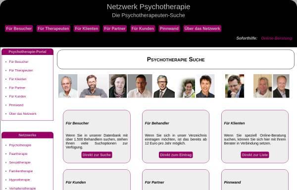 Vorschau von www.netzwerk-psychotherapie.de, Kollegiales Netzwerk Psychotherapie