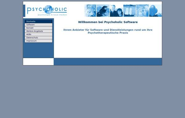 Vorschau von www.psychoholic.de, Psychoholic