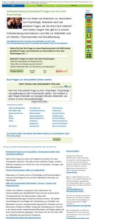 Vorschau der mobilen Webseite www.web4health.info, Web4health