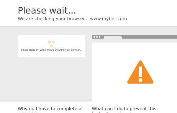 Vorschau von www.mybet.com, Mybet