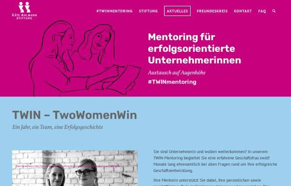 Vorschau von www.kaete-ahlmann-stiftung.de, Käte Ahlmann Stiftung