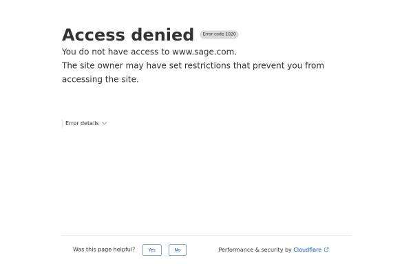 Vorschau von www.sage.de, Sage Software GmbH & Co. KG