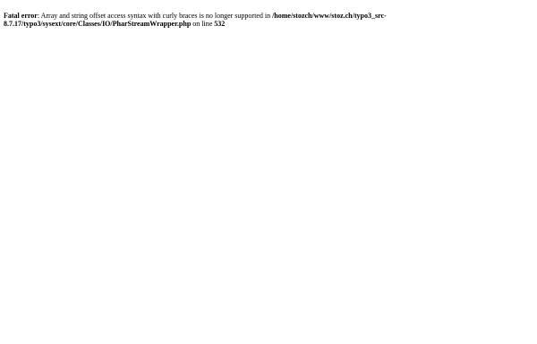 Vorschau von www.stoz.ch, Stoz Werbeagentur AG