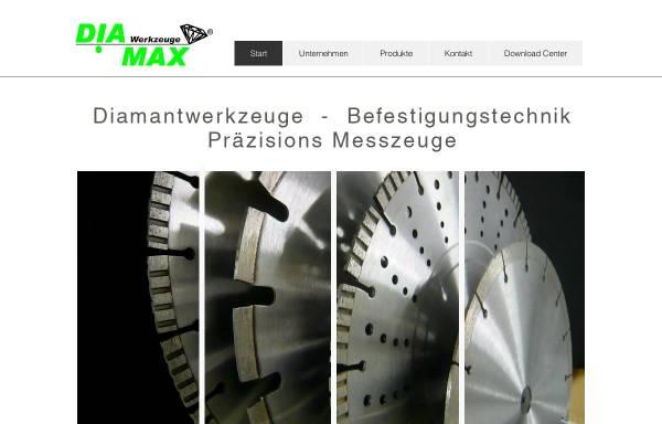 Vorschau von www.diamax.de, Diamax Werkzeuge GmbH