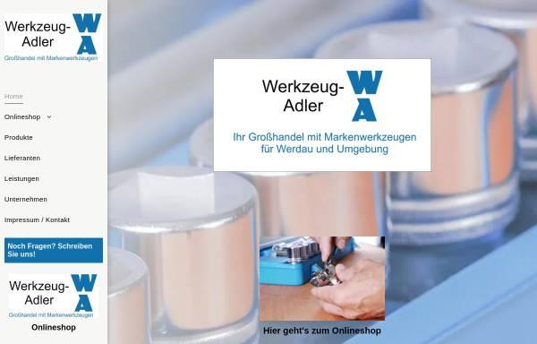 Vorschau von www.werkzeug-adler.de, Werkzeug-Adler, Inh. Konrad Adler