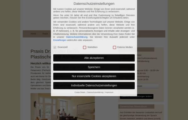 Vorschau von www.berliner-schoenheitschirurgie.de, Berliner Forum für Ästhetische Chirurgie e.V.