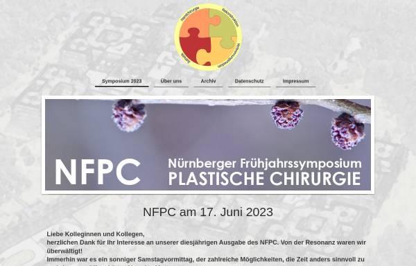 Vorschau von www.nfpc.de, Nürnberger Frühjahrssymposium Plastische Chirurgie.