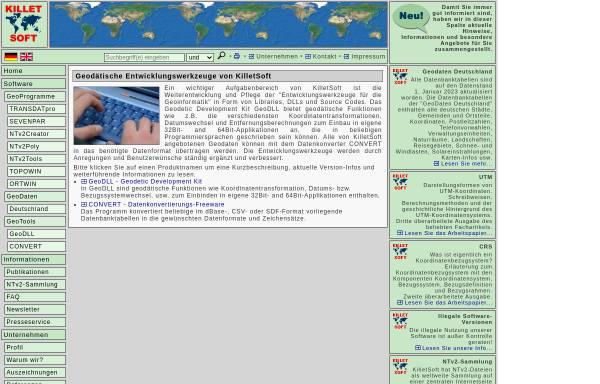 Vorschau von www.killetsoft.de, Killet Soft