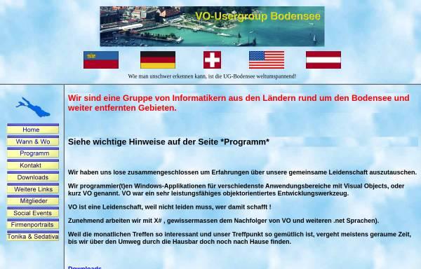 Vorschau von www.voug-bodensee.net, VO-Usergroup Bodensee