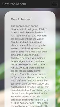 Vorschau der mobilen Webseite www.baerchen-shop.de, Baerchen-shop.de, Jürgen Bettingen