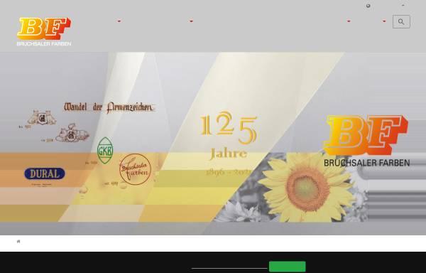 Bruchsaler Farben GmbH & Co. KG: Pigmente und Farbstoffe, Chemie ...