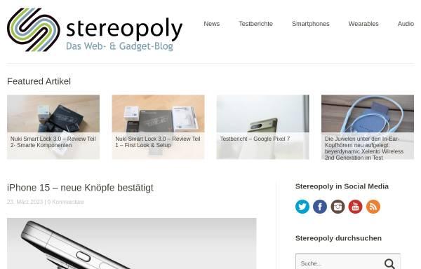 Vorschau von stereopoly.de, stereopoly