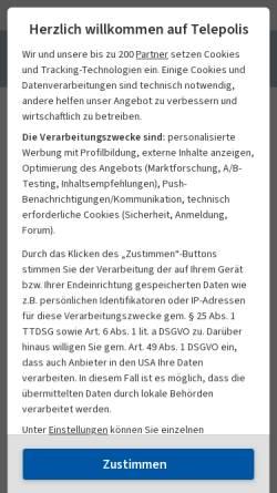 Vorschau der mobilen Webseite www.heise.de, Telepolis