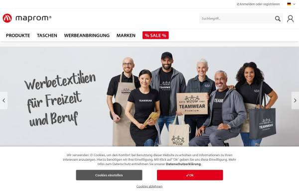 Vorschau von www.maprom.de, MAPROM GmbH