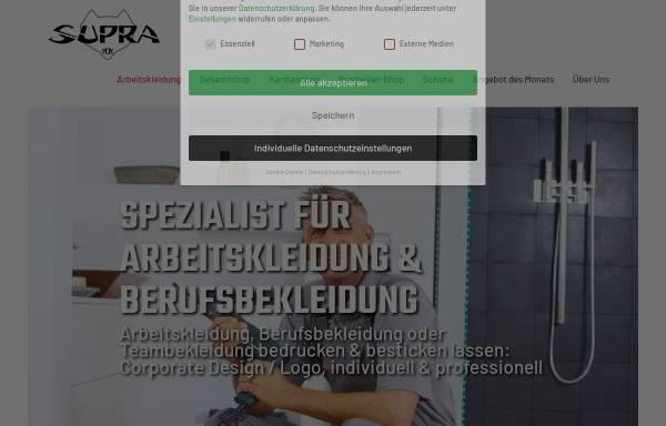 Vorschau von www.supra-fox.de, SUPRA-FOX Werbemittel GmbH