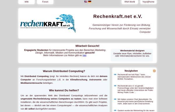 Vorschau von www.rechenkraft.net, Rechenkraft.de