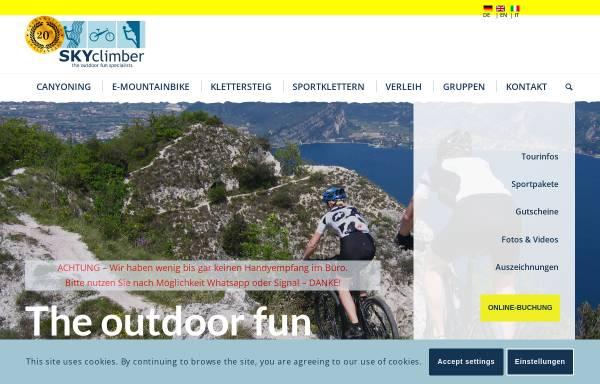 Vorschau von www.skyclimber.de, Skyclimber
