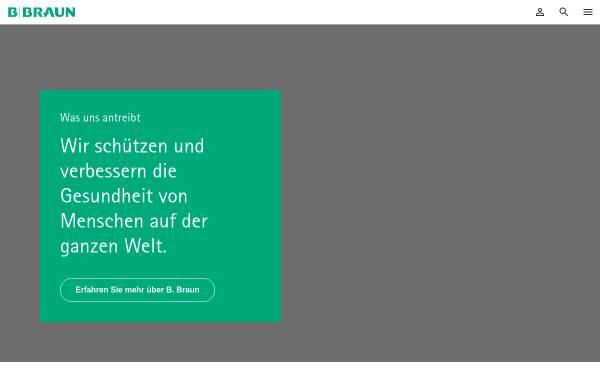 Vorschau von www.bbraun-preis.de, B. Braun Preis