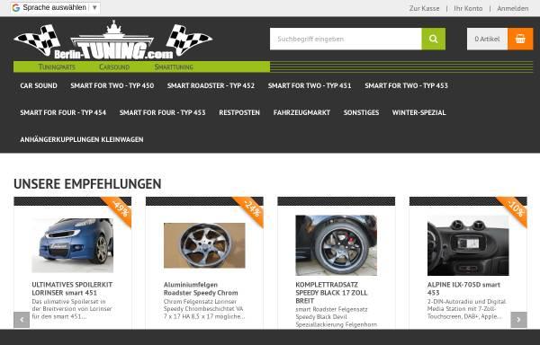 Vorschau von www.berlin-tuning.com, Berlin-Tuning, Steffen Henker