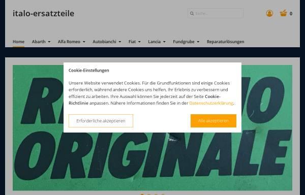 Vorschau von www.italo-ersatzteile.de, Italo-Ersatzteile, Fa. Schwarz Manfred