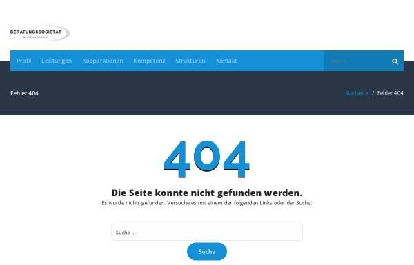Vorschau von www.westphalen-cie.de, Beratungssocietät Westphalen & Cie.