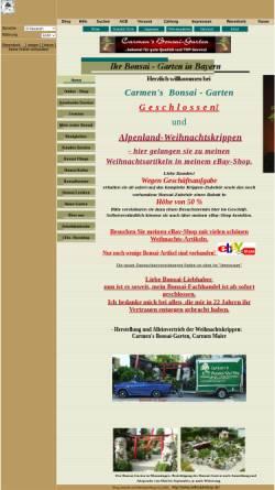 Carmens Bonsai Garten Online Shop Pflanzen Onlineshops Haus Und