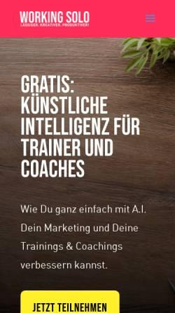 Vorschau der mobilen Webseite www.e-ffectivity.biz, e:ffectivity! - e:works Trainings Martin Weiss