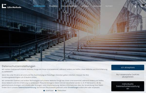 Vorschau von www.loehnmethode-shop.de, LöhnMethode - coda KG Management Methoden & Co