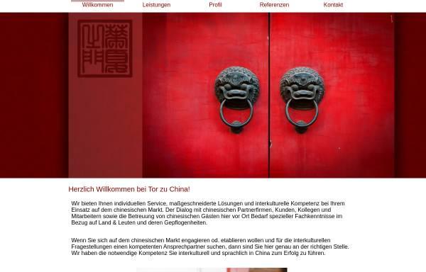 Vorschau von www.torzuchina.com, Tor zu China, Annick Guilhem