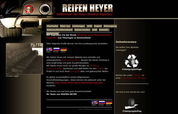 Vorschau von www.reifen-heyer.de, Reifen Heyer OHG