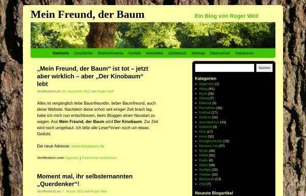 Vorschau von www.meinfreundderbaum.de, Weil, Roger