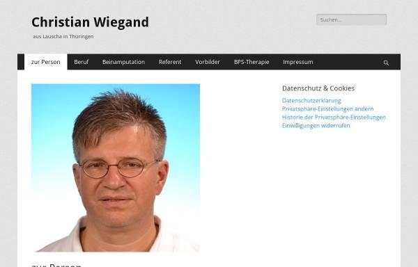 Vorschau von www.christianwiegand.de, Wiegand, Christian