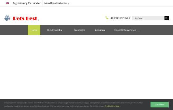 Vorschau von www.pets-best.de, Pets Best e.K.