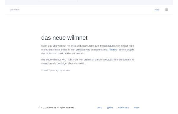 Vorschau von www.wilmnet.de, Wilm, Leif-Christian