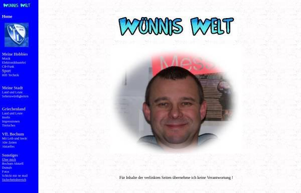 Vorschau von www.wuennis-welt.de, Wünnenberg, Michael
