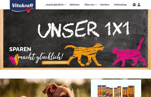 Vorschau von www.vitakraft.de, Vitakraft-Werke Wührmann & Sohn GmbH & Co. KG