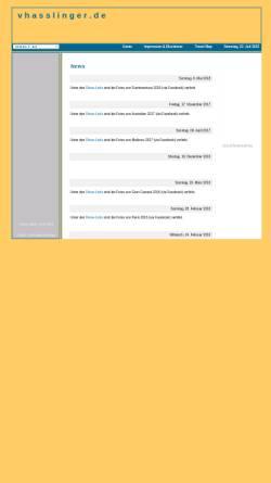 Vorschau der mobilen Webseite www.vhasslinger.de, Haßlinger, Volker