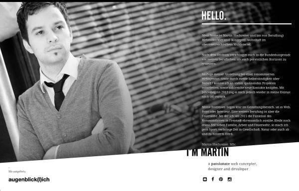 Vorschau von www.martinhochreiter.at, Hochreiter, Martin