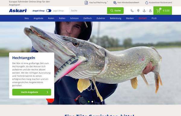 Vorschau von www.angelsport.de, Askari Sport GmbH