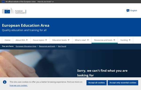 Vorschau von ec.europa.eu, Europäische Kommission - Die Sprachen Europas
