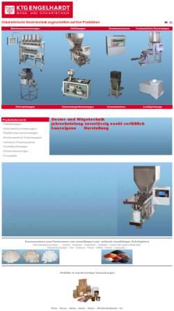 Vorschau der mobilen Webseite www.ktg-engelhardt.de, KTG Engelhardt GmbH